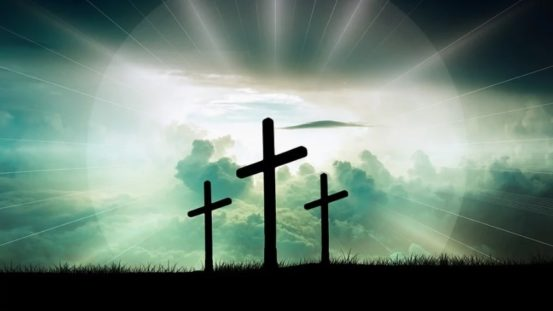 Easter crosses crucifix
