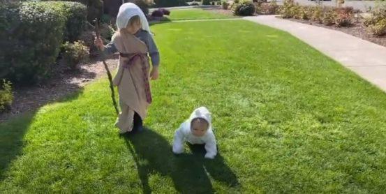 Moses and a sheep